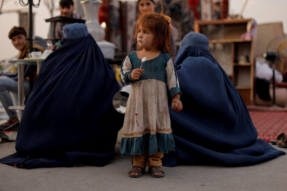 Život Afghánek v područí Tálibánu