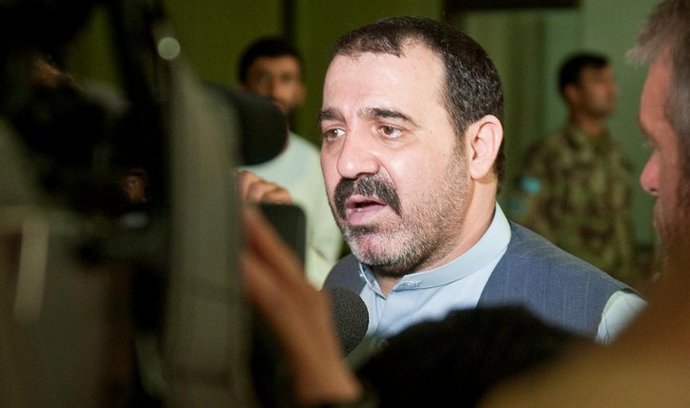 Ahmad Valí Karzáí, neoficiální vládce afghánského jihu.
