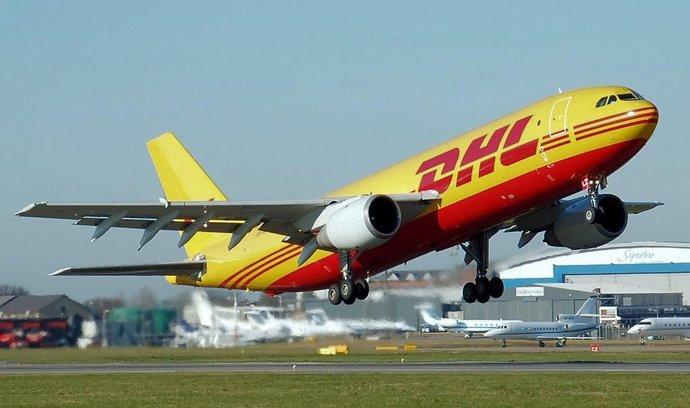 Airbus A300 v barvách DHL