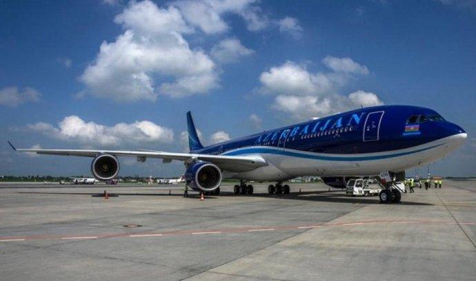Airbus A340-500 aerolinek AZAL - Azerbaijan Airlines
