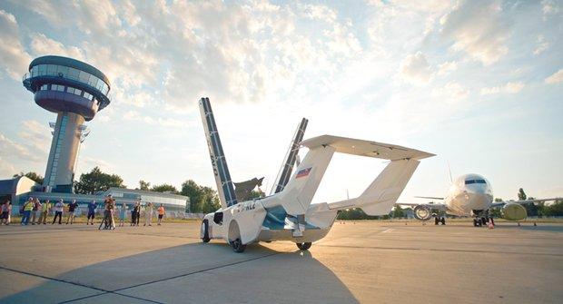 AirCar: Létající auto ze Slovenska