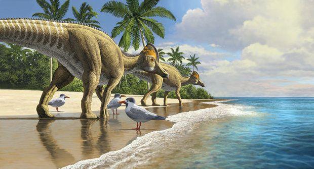 Dinosaurus mořeplavec: Jak se dostal až do Afriky?