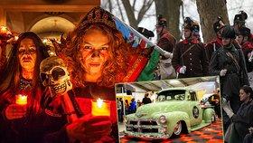 Tipy na víkend: Halloween je tu! Obdivujte bouráky a poslední střelba v Josefově