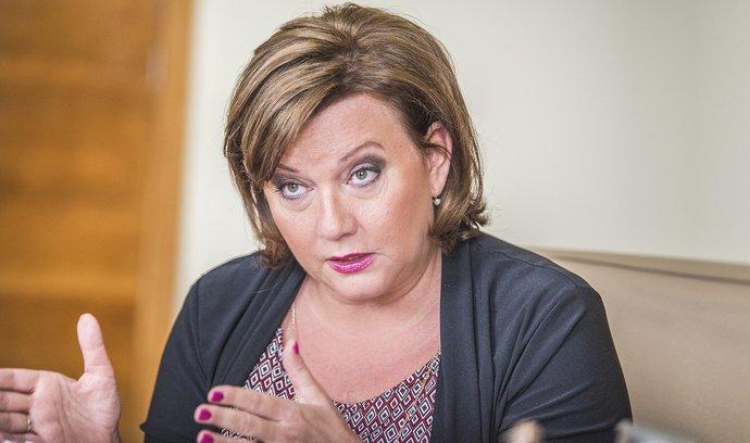 Marže jsou nehorázně vysoké, kritizuje obchodníky ministryně financí Alena Schillerová (za ANO)