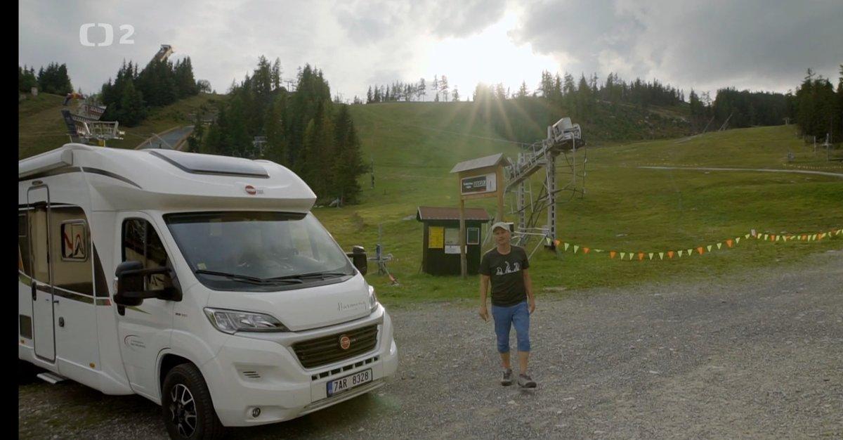 Dalibor Gondík uváděl pořad S karavanem po Slovensku, jehož je i autorem