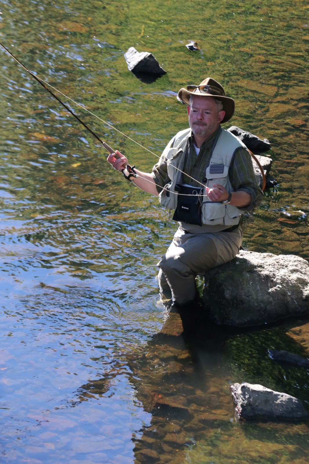 Aleš Háma si v Karlových Varech zašel na ryby