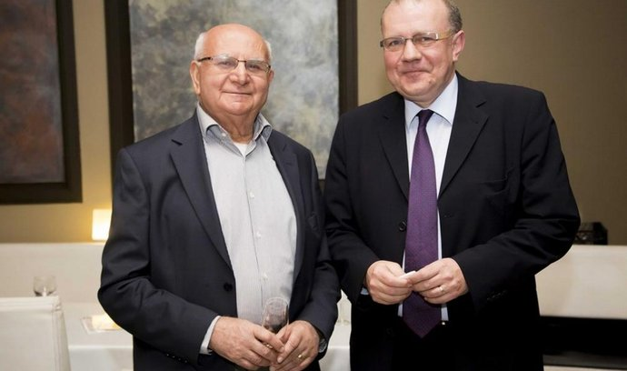 Alexander Babiš (vpravo)