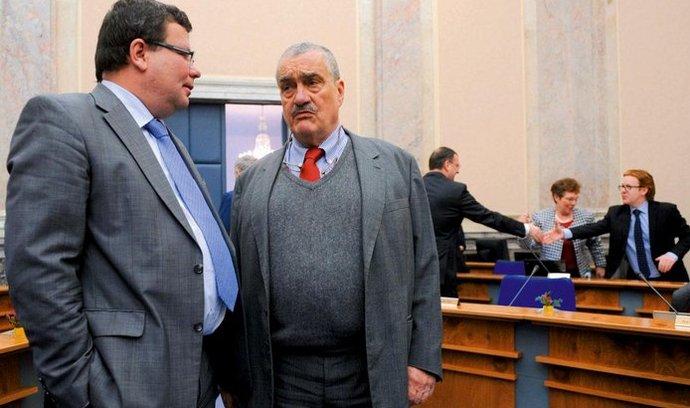 Alexandr Vondra a Karel Schwarzenberg