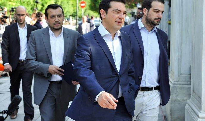 Alexis Tsipras, Nikos Pappas, Gabriel Sakellaridis