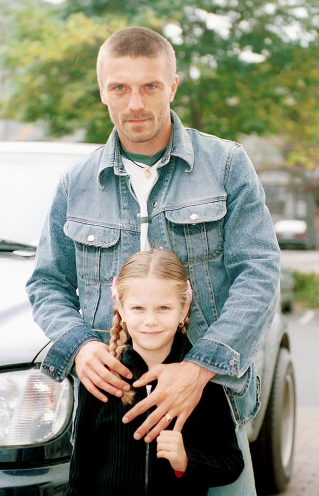 Tomáš Řepka s dcerou Veronikou