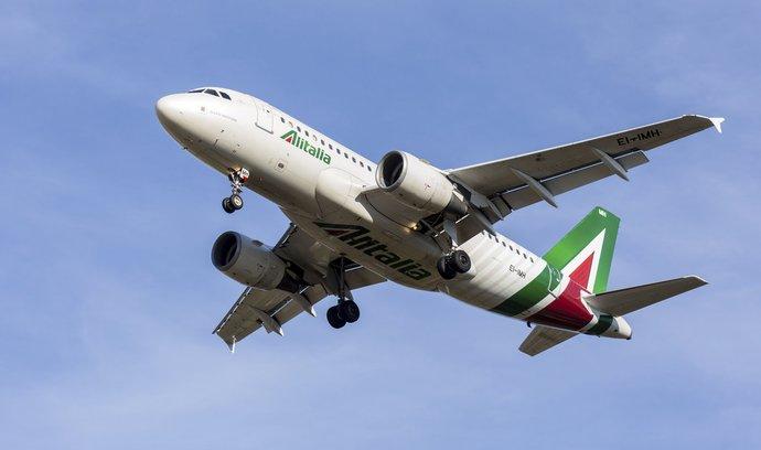 Letadlo Alitalia