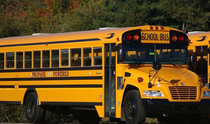 Americká školní autobus