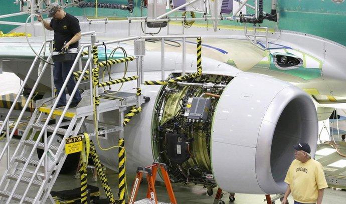 Americká továrna Boeingu