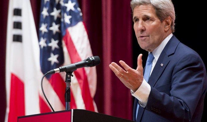 Americký ministr zahraničí John Kerry (18. května 2015)