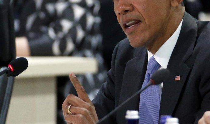 Americký prezident Barack Obama na konferenci o jaderné bezpečnosti