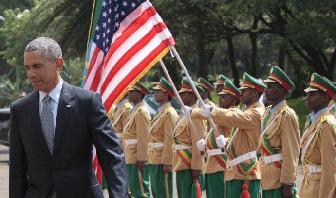 Americký prezident Barack Obama v Etiopii (27.7.2015)