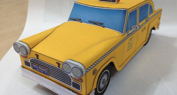 Vystřihovánka v novém ABC 13: Americké taxi