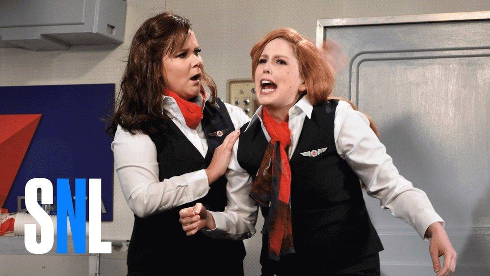 Amy Schumer v Delta flight
