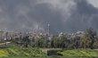 Minaret irácké mešity an-Núrí v Mosulu