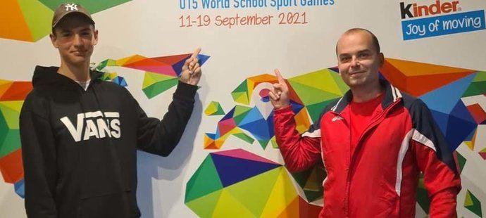 András Takács šampionem ze Světových školských her v srbském Bělehradě