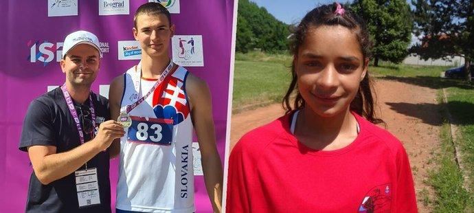 Kamarád Annamárie András Takács vyhrál běh na 400 metrů na Světových školských hrách v Bělehradě