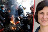 """Lidem v nouzi zasvětila život. """"Nejvíc mě trápí těhotné ženy na ulici,"""" říká lékařka (35) Armády spásy"""