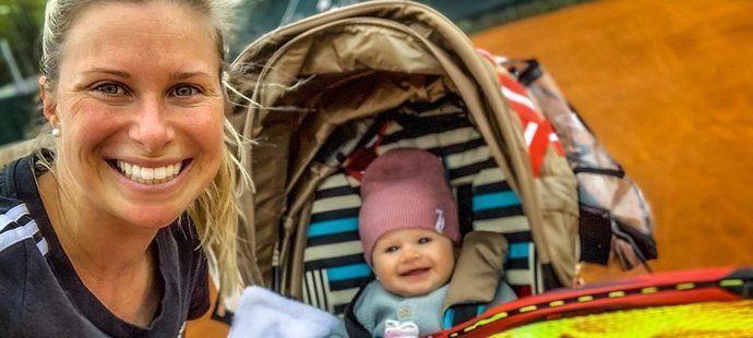 Andrea Sestini Hlaváčková si návrat k profesionálnímu tenisu už nedokáže představit