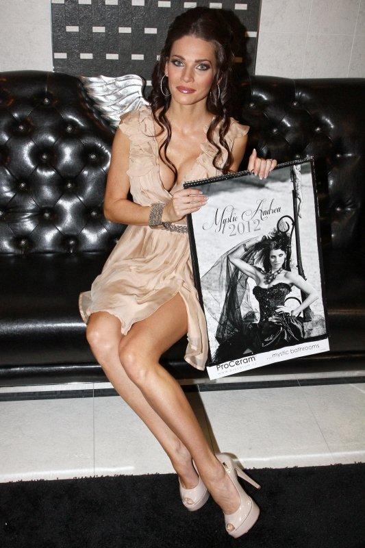 Andrea se svým kalendářem