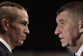 Babiš a Bartoš v předvolební debatě uspávali hady. Televizní střet poté zadusil covid