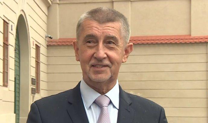 Andrej Babiš (ANO) předstoupil před novináře (12.10.2021)