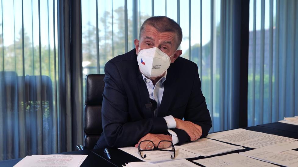 Andrej Babiš (ANO) v pořadu Čau lidi (10.10.2021)