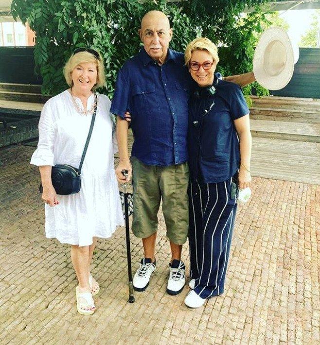Andrej Hryc s manželkou a dcerou.