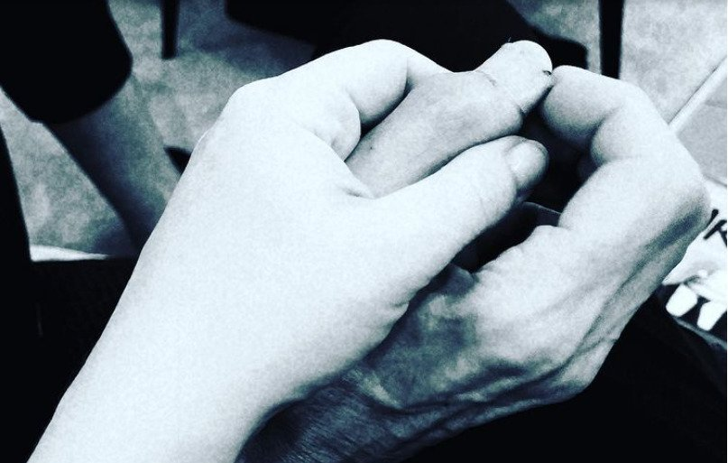 Dcera Wanda držela tatínka do posledních chvil...