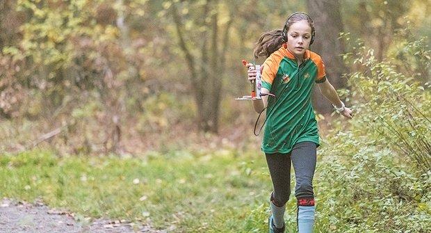 Zlatý oříšek: Aneta je mistriní světa v orientačním běhu