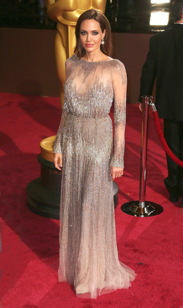 Angelina Jolie na předávání Oscarů, rok 2014