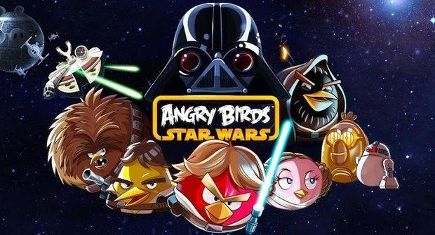 Noví Angry Birds se hrají jako Star Wars