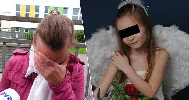Alena, zdrcená matka Elišky: Její dceru zavraždili. Podezřelým je Alenin bratranec, tedy Eliščin vzdálený strýc