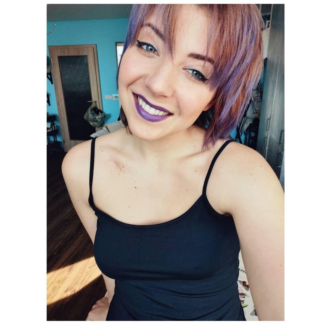 Anička Slováčková změnila barvu vlasů