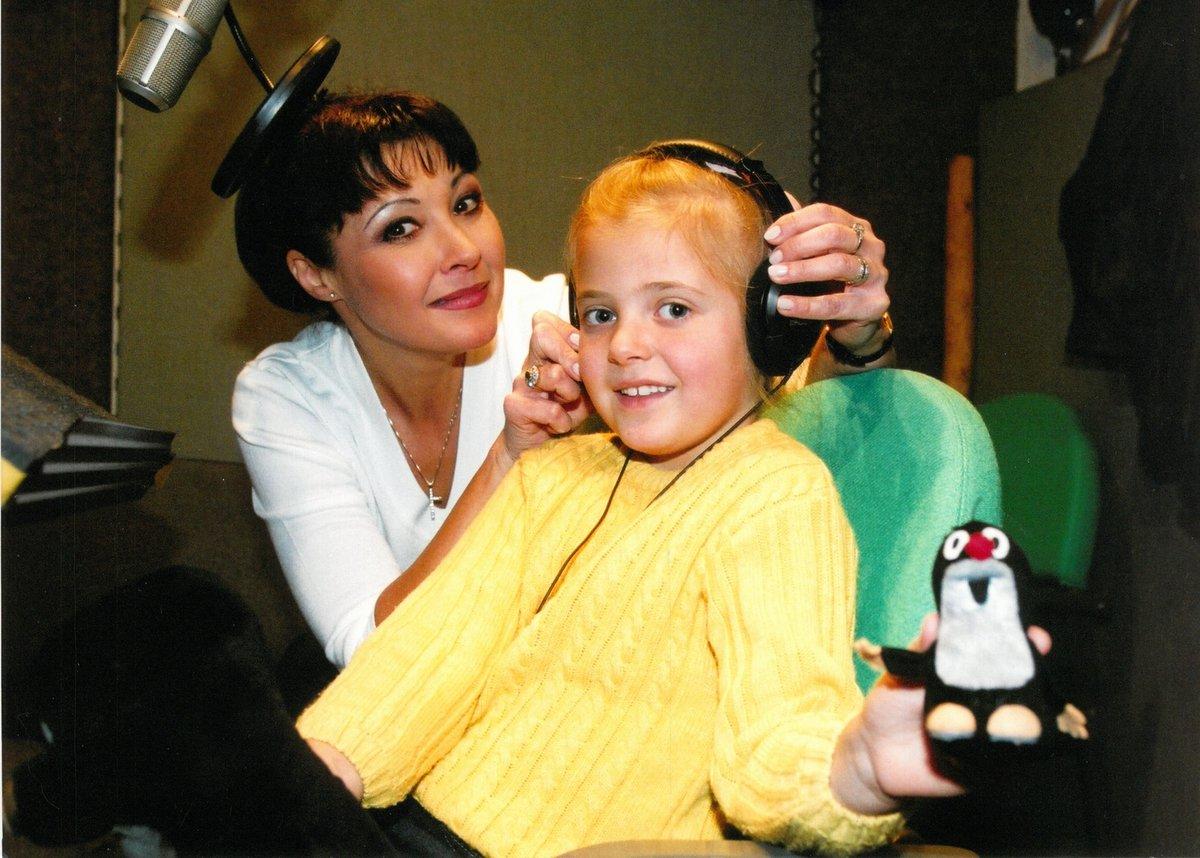 Anička Slováčková s maminkou Dagmar Patrasovou