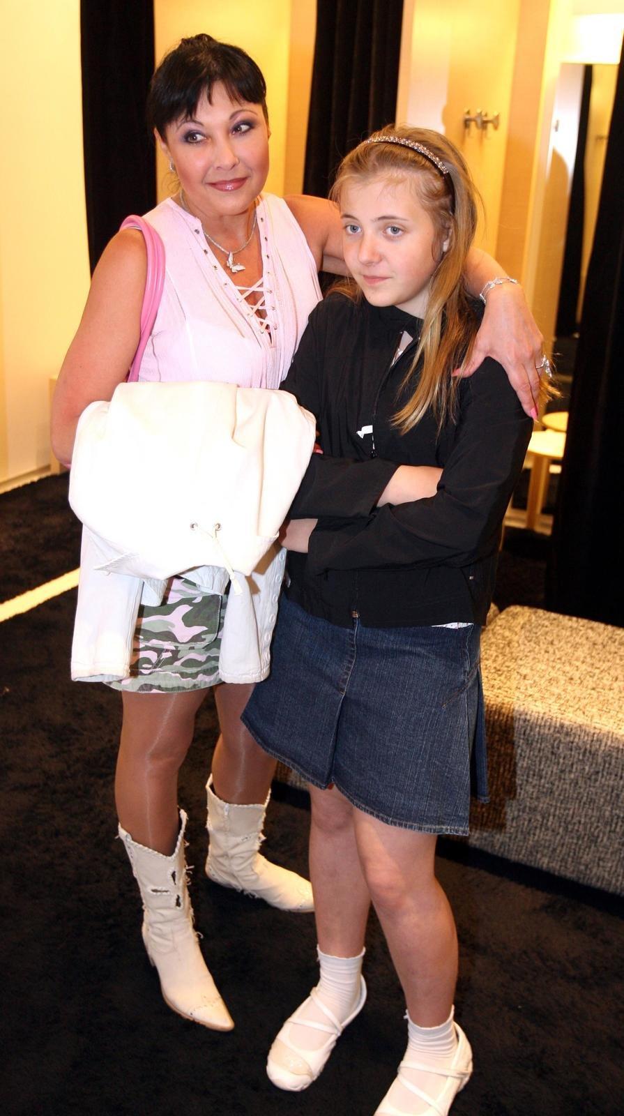 S maminkou v roce 2007