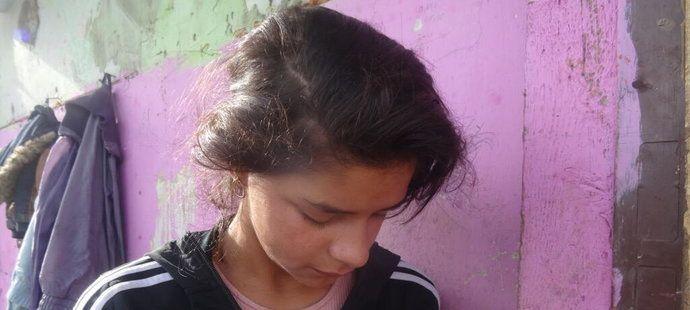 Annamária jako dvanáctiletá vyhrála běžecký závod v balerínkách.