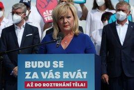 Další vládní kamufláž: Schillerová apeluje v EU na rozpočtovou odpovědnost, sama ji …