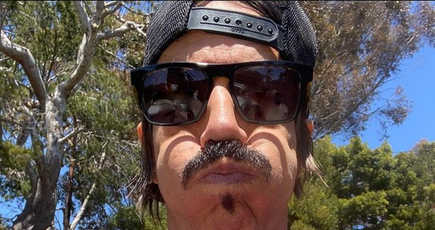 Anthony Kiedis, frontman kapely Red Hot Chili Peppers