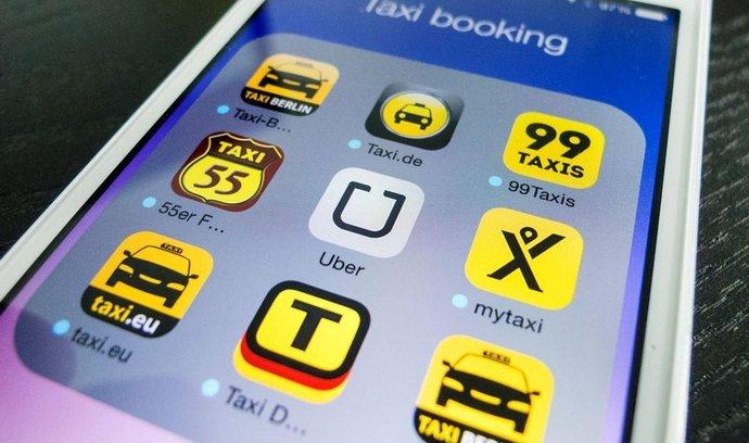 Aplikace Uber