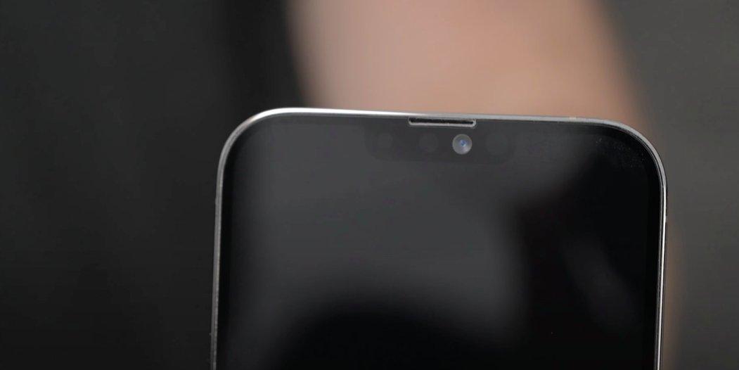 Možná podoba zmenšeného výřezu u iPhonu 13