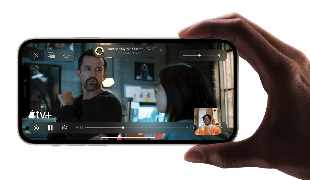 Novinky v iOS 15: FaceTime