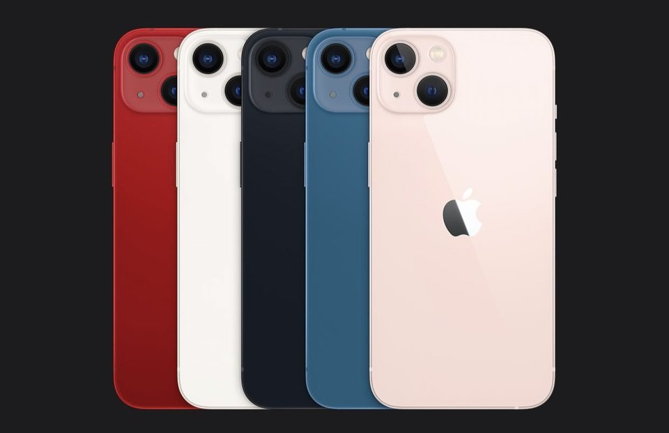 Apple iPhone 13 mini.