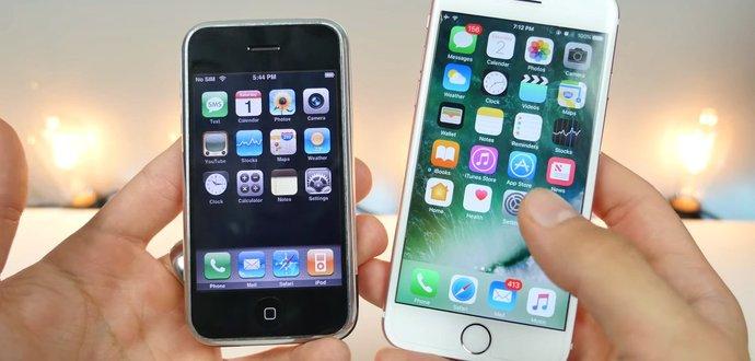 Zůstaly jen ikony, vše ostatní je jinak! Srovnání operačních systémů iPhonu, které dělí devět let