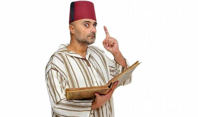 arabský čtenář