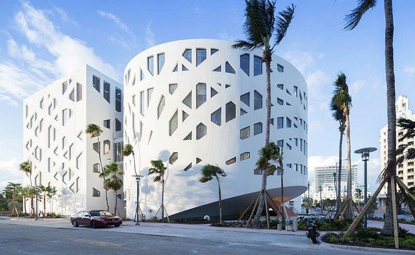 Faena Forum na Miami Beach je dílem od architektů z ateliéru OMA.